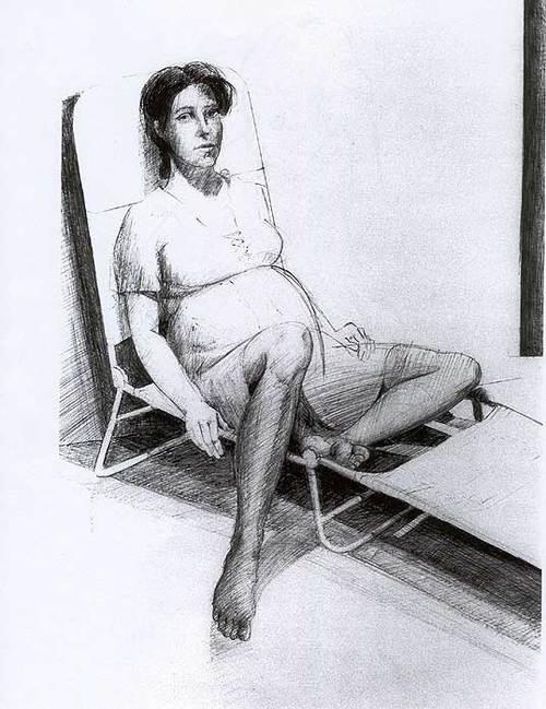 John Berland, early drawing